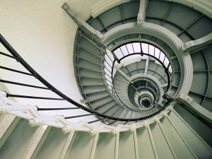 Spiral-Staircase-Ponce-de-Leon-Inlet-Lighthouse-Florida